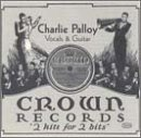 Palloy, Charlie - Vocals & Guitar CD Cover Art