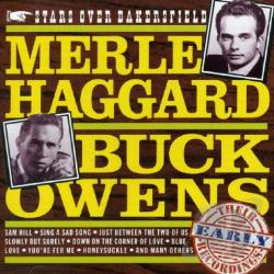 Haggard, Merle - Stars over Bakersfield: Early Recordings CD Cover Art