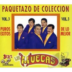 Los Muecas - Muecas Los Vol. 3-30 Puros Exitos CD Cover Art
