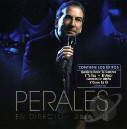 Perales, Jose Luis - En Directo. 35 Anos CD Cover Art