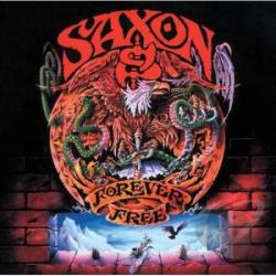 Saxon - Forever Free CD Cover Art