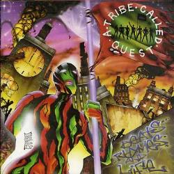 A Tribe Called Quest - Beats, Rhymes and Life CD Cover Art