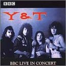Y & T - BBC In Concert CD Cover Art