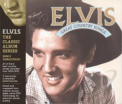 Presley, Elvis - Great Country Songs CD Cover Art