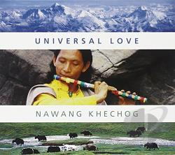 Khechog, Nawang - Universal Love CD Cover Art