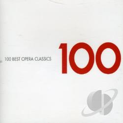 Best Opera Classics 100 - 100 Best Opera Classics CD Cover Art