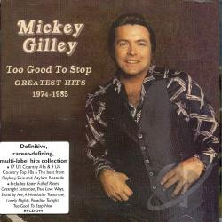 Gilley, Mickey - Overnight Sensation: Country Hits 1974-1984 CD Cover Art