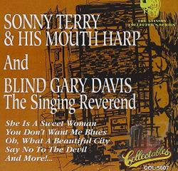 Davis, Rev. Gary - Singing Reverend CD Cover Art