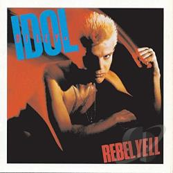 Idol, Billy - Rebel Yell CD Cover Art