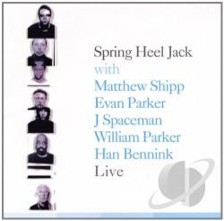 Spring Heel Jack - Live CD Cover Art