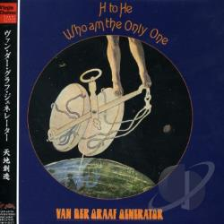 Van Der Graaf Generator - H to He Who Am the Only One CD Cover Art