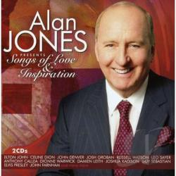 Alan Jones Songs Of Love & Inspiration CD Cover Art
