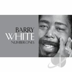 White, Barry - Number Ones CD Cover Art