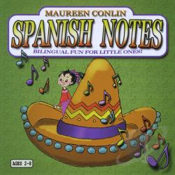 Conlin, Maureen - Spanish Notes CD Cover Art