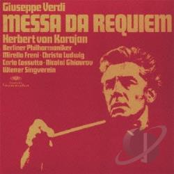 Karajan, Herbert Von - Verdi: Messa Da Requiem CD Cover Art