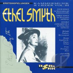 Ethel Smyth Ensemble - Smyth: Kammermusik And Lieder, Vol. 3 DB Cover Art