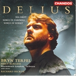 Bournemouth Sinfonietta Orch / Delius / Hickox - Delius: Sea Drift; Songs of Farewell; Songs of Sunset CD Cover Art