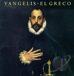 Vangelis - El Greco CD Cover Art