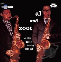 Cohn, Al / Sims, Zoot - Al and Zoot CD Cover Art