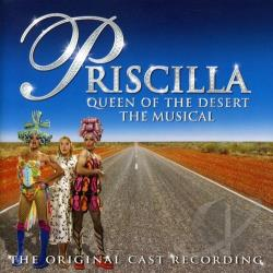 Priscilla Queen Of The Desert: Musical CD Cover Art