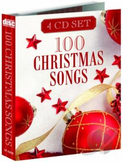 100 Christmas Songs CD Cover Art
