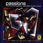 Coroporon / Grainger / Holst / Ntws / Rossini - Passions CD Cover Art