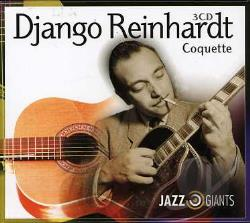 Reinhardt, Django - Jazz Giants-Django Reinhardt CD Cover Art