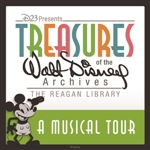 Various Artists - Musical Tour: Treasures Of The Walt Disney Archives At The Reagan Library DB Cover Art