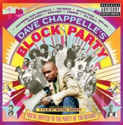 Dave Chappelle's Block Party CD Cover Art