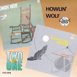 Howlin' Wolf - Howlin' Wolf/Moanin' in the Moonlight CD Cover Art