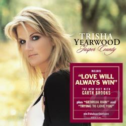 Yearwood, Trisha - Jasper County CD Cover Art