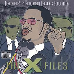 Scholar - X Files CD Cover Art