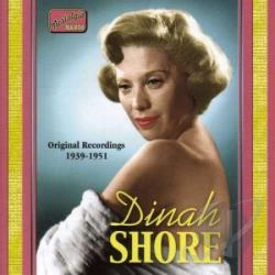 Shore, Dinah - Vol. 1 - Original Recordings CD Cover Art