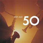 Various Artists - 50 Best Jazz DB Cover Art