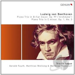Beethoven / Trio ex Aequo - Beethoven: Piano Trios Op. 77 (Archduke); Piano Trio Op 1 No. 3 CD Cover Art