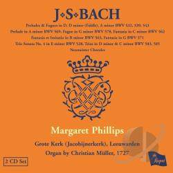 Bach, Johann Sebastian / Phillips - J.S. Bach: Organ Works, Vol. 8 CD Cover Art