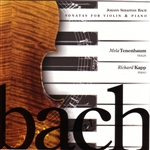 Bach / Kapp / Tenenbaum - Bach: Sonatas for violin and piano CD Cover Art