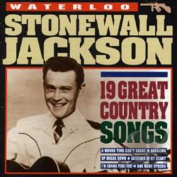 Jackson, Stonewall - Waterloo: 19 Great Country Songs CD Cover Art