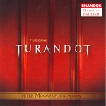 Brocq / Eaglen / Gedda / Parry / Plazas / Puccini - Puccini: Turandot CD Cover Art