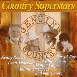 Country Superstars, Vol. 1 CD Cover Art