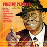Perkins, Pinetop - Ladies Man CD Cover Art
