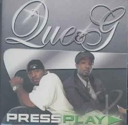 Que & G - Press Play CD Cover Art