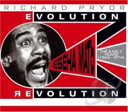Pryor, Richard - Evolution/Revolution: The Early Years (1966-1974) CD Cover Art