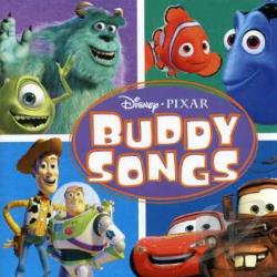 Disney - Pixar Buddy Songs CD Cover Art