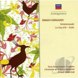 Ansermet / Nerini / Paris Co / Rimsky-Korsakov - Rimsky-Korsakov: Scheherazade/Le Coq d'Or Suite CD Cover Art