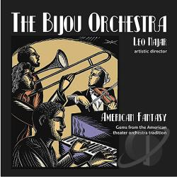 Bijou Orchestra - American Fantasy CD Cover Art