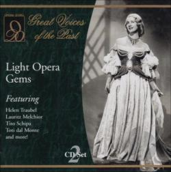 Opera D'Oro Artists - Light Opera Gems CD Cover Art