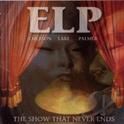 Emerson, Lake, And Palmer - Show That Never Ends CD Cover Art