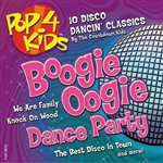 Countdown Kids - Pop 4 Kids: Boogie Oogie Dance Party CD Cover Art