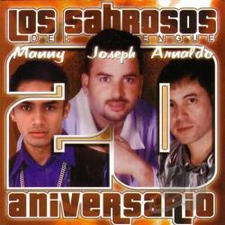 Los Sabrosos Del Merengue - 20 Aniversario CD Cover Art